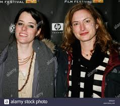 Actress Parker Posey and director Zoe Cassavetes arrive for a screening of  the film