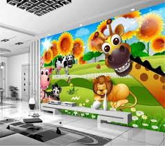 Comic Wallpaper Beautiful Cartoon Background Childrens Room Kids Room Background Wall Painting Wallpaper Free Wallpaper In Hd Free Wallpapers From Yunlin188 7 84 Dhgate Com