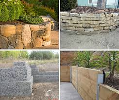 19 diffe types of retaining wall