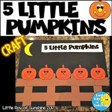 5 Little Pumpkins Worksheets Teaching Resources Tpt