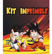 Dragon Ball Z Kit Imprimible De Cumpleanos Personalizado 380