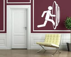 Vinyl Decal Fantasy World Wall Stickers Parallel Worlds Entrance Porta Wallstickers4you