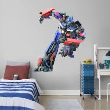 Fathead Optimus Prime Giant Officially Licensed Transformers Removable Wall Decal Walmart Com Walmart Com