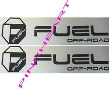 Fuel Off Road Car And Truck Decals Badges And Detailing For Sale Ebay