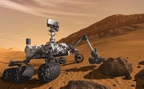 Esta es la increíble imagen del Rover Curiosity sobre Marte