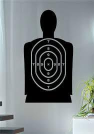 Target Shooting Range Version 1 Guns Decal Sticker Wall Vinyl Decor Art Wall Vinyl Decor Vinyl Decor Decal Wall Art