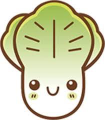 Amazon Com Cute Happy Healthy Vegetable Food Cartoon Emoji Vinyl Decal Sticker 4 Tall Lettuce Arts Crafts Sewing