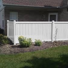 Weatherables Hanover 4 Ft H X 6 Ft W White Vinyl Pool Fence Panel Pwpo Sp 4x6 The Home Depot