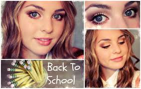 back to makeup tutorial middle