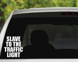 Vinyl Decal Slave To The Traffic Light Phish Sticker Etsy