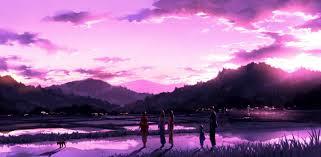 sunset sky cloud beautiful pink