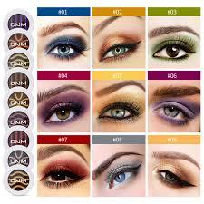 makeup eye shadow box dazzle color