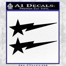 Bape Decal Sticker Flash Star A1 Decals