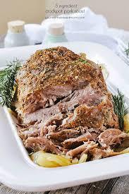 crockpot pork roast only 5