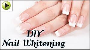 how to whiten your nails naturally