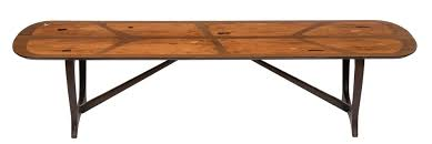 midcentury marquetry long tom coffee