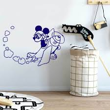 Mickey Flying Quote Wall Decal Vinyl Sticker Krafmatics