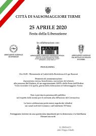 Festa della Liberazione - 25 Aprile 2020