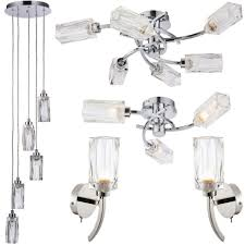oaks lighting metal bahia titanium 6