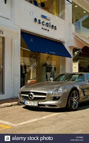 Mercedes amg 64 sls parked in the luxury harbour of Puerto banus Stock  Photo - Alamy