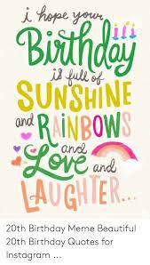 sunshine pr inbow th birthday meme beautiful th birthday