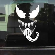 Venom Spiderman Vinyl Sticker Marvel Stickers Car Window Body Decal Sticker 17 5x11 25cm Aliexpress