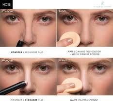 perfect nose contour makeup