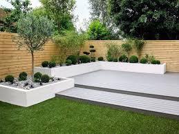deck ideas contemporary backyard designs