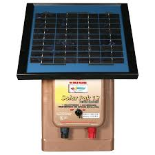 Parmak Mag12 Sp 12v Fencer Solar Battery Operated 30 Miles Qc Supply