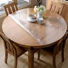 clear 45 inch round table