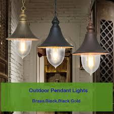 clear acrylic metal cone shade 1 lamp