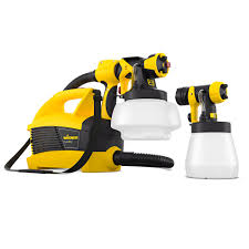 Wagner Flexio 230v 630w Fence Paint Sprayer W690 Departments Diy At B Q