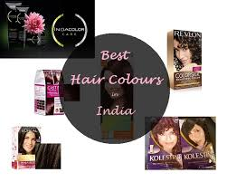 best hair colour brands available in india