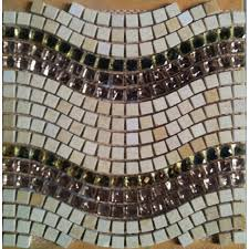 stone glass tile wave floors