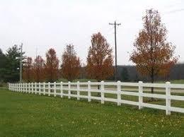 Vinyl Fence 3 Rail 1152ft Horse Fence White Jardines Para Casas Jardines Casas