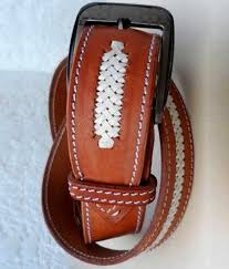 handmade belts to match your horse tack
