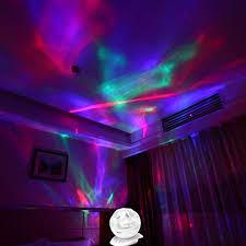 aurora borealis night light with
