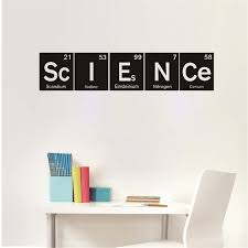 Science Vinyl Wall Decals Art Decor Periodic Table Elements Vinyl Wall Art Sticker For School Classroom Decor Buy At The Price Of 4 71 In Aliexpress Com Imall Com