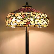 floor lamp shade lamp stained glass