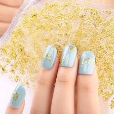 24 Sheets Gold Crowns Gold Stars Gold Vines Nail Stickers Set Nail Allydrew