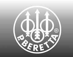 Beretta Vinyl Decal White Sticker Gun Pistol Car Window 4 25 Round Usa Made Ebay