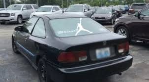 Addition Of Jumpman Sticker Completes Honda Purchase