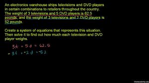 systems of equations algebra i math