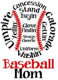 Baseball Mom Custom Window Decal Baseball Mom Baseball Mom Shirts Baseball Svg