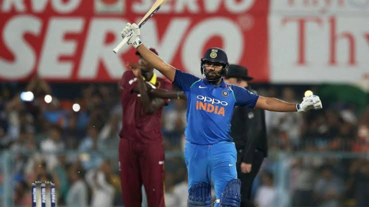 Image result for Rohit Sharma ODI against West Indies""