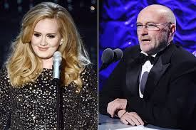 Adele Working With Phil Collins on New Record