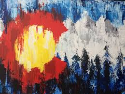 Image result for art painting colorado