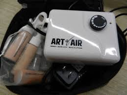 art of air airbrush makeup kit with
