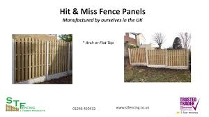 S T Fencing Hit And Miss Windproof Fence Panels Youtube