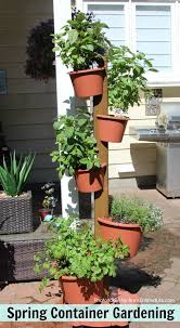 spring container vegetable gardening